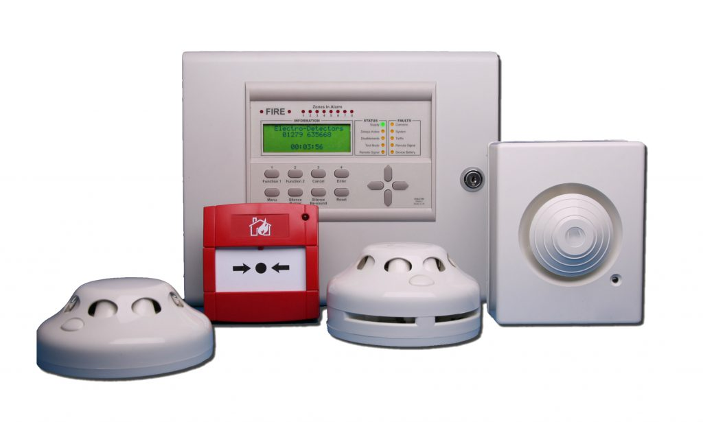 full wireless fire alarm system and detectors including control panel