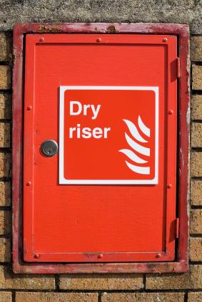 dry riser door