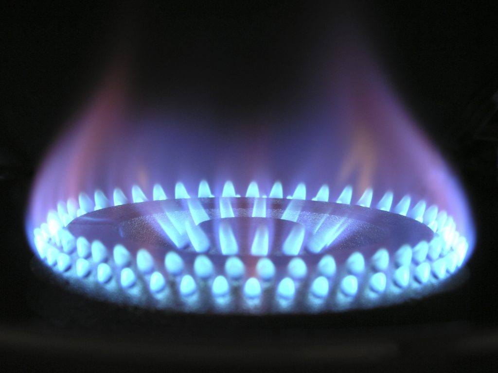 Gas fire Pyrotec